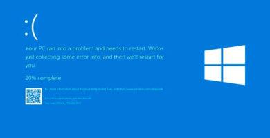 La última actualización de windows 10 está dando errores de pantalla azul de la muerte