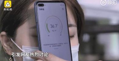 El Nuevo 'Huawei Honor Play 4 5G' tiene la Capacidad de Medirte la Temperatura.