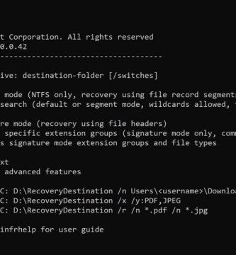 Microsoft Lanzó aplicación para 'Recuperar Archivos Borrados' en Windows 10