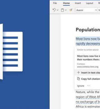 Microsoft Word Obtendrá una Nueva Funcionalidad de Verificación de Plagio