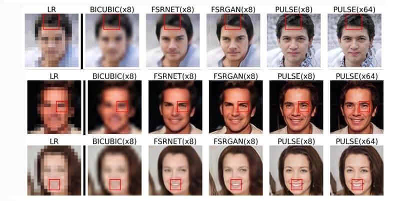 Esta IA es capaz de 'Imaginar' la cara que escode una foto pixelada