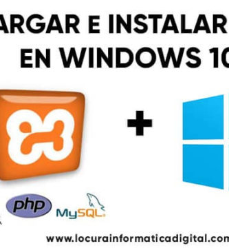 Cómo descargar e Instalar XAMPP en Windows 10