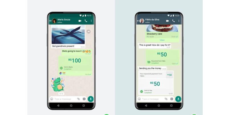 WhatsApp ya comenzó a ofrecer el servicio de pago en Brasil