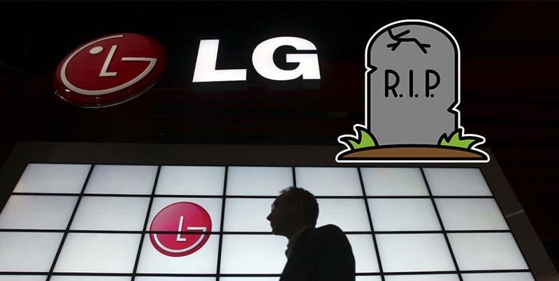 LG anuncia su salida del negocio de la telefonía