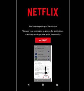 Aplicación falsa de Netflix en Google Play está propagando malware a través de WhatsApp