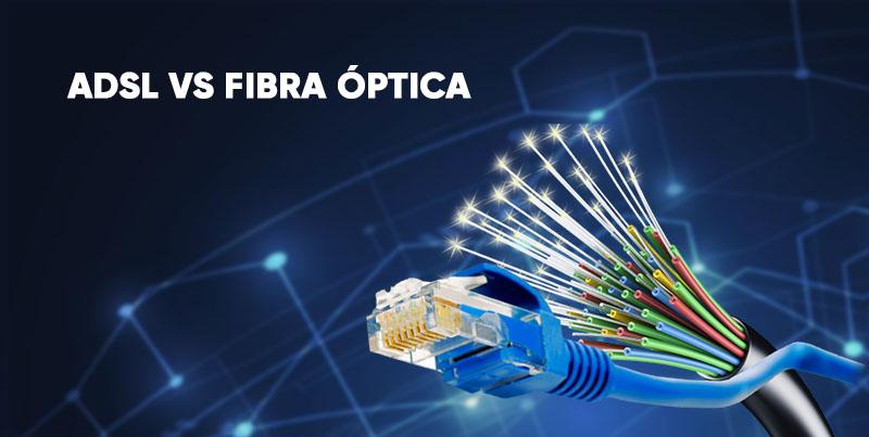 Cuales son las diferencias entre: Fibra Óptica vs ADSL